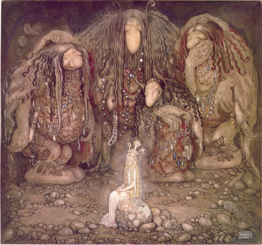"""""""John Bauer 1915"""" by John Bauer - Illustration of Walter Stenström's The boy and the trolls or The Adventure in childrens' anthology Among pixies and trolls, a collection of childrens' stories, 1915.. Licensed under Public Domain via Wikimedia Commons - https://commons.wikimedia.org/wiki/File:John_Bauer_1915.jpg#/media/File:John_Bauer_1915.jpg"""